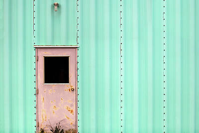Side Panel Photograph - Municipal Green by Todd Klassy
