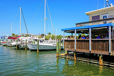 Photograph - Municipal Marina At Dunedin, Florida by Chris Smith