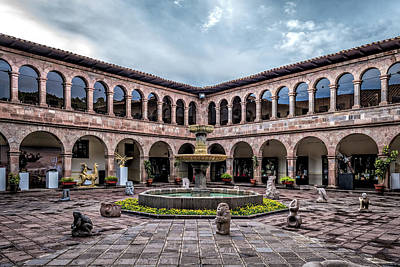 Photograph - Municipal Palace Museum by Maria Coulson