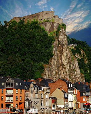 Photograph - Municipality Of Dinant by Anthony Dezenzio