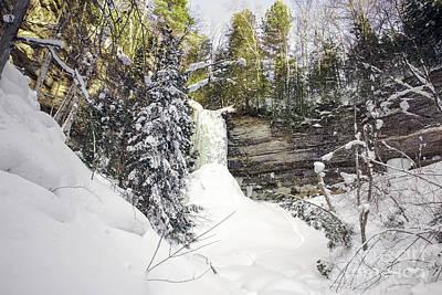 Nikki Vig Royalty-Free and Rights-Managed Images - Munising Fall Upper Michigan by Nikki Vig