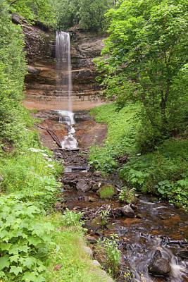 Photograph - Munising Falls by Paul Rebmann