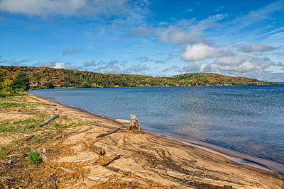 Photograph - Munising On Lake Superior by John M Bailey