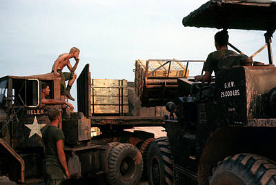 Photograph - Munitions Loading by Robert Holden