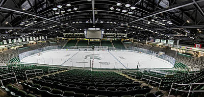 Michigan State Photograph - Munn Ice Arena  by John McGraw