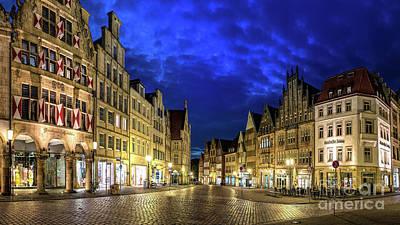 Photograph - Munster Prinzipalmarkt by Daniel Heine
