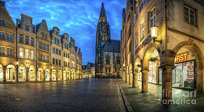 Photograph - Munster Prinzipalmarkt Lamberti Church by Daniel Heine