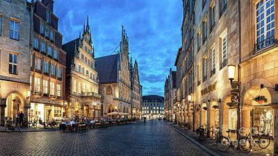 Photograph - Munster Prinzipalmarkt Stuhlmacher by Daniel Heine