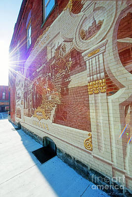 Photograph - Mural In Lagrange Indiana by David Arment