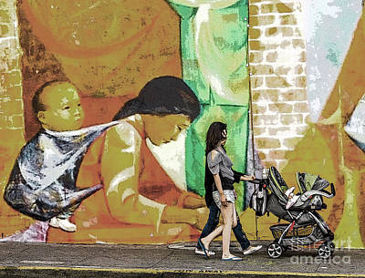 Photograph - Mural by Kate Brown
