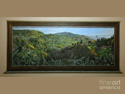 Painting - Mural-view Of Sorana by Kelly Borsheim