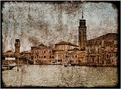Photograph - Murano, Italy - Canale Degli Angeli by Mark Forte
