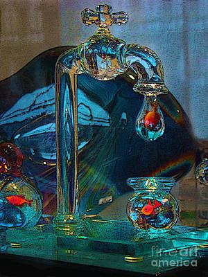Murano Glass Photograph - Murano Fish In Venice Italy by Al Bourassa