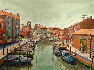Painting - Murano Italy by Kevin Davidson