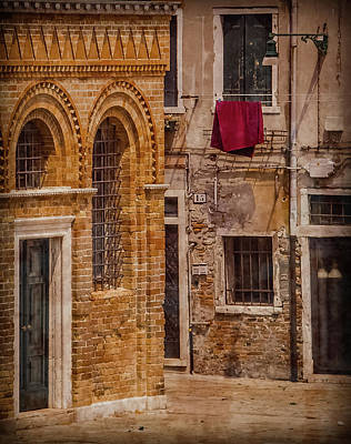 Photograph - Murano, Italy - Out To Dry by Mark Forte