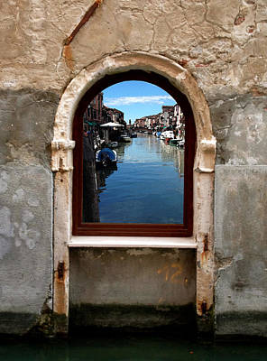 Murano Reflection Art Print