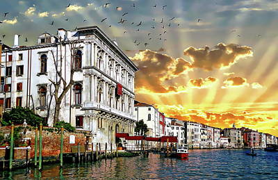 Photograph - Murano Sunrise by Anthony Dezenzio