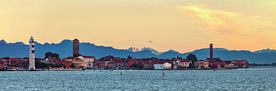 Photograph - Murano Sunrise by Art Ferrier