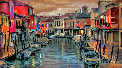 Photograph - Murano Twilight by Brian Tarr