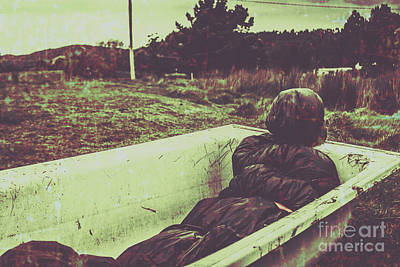 Haunted Photograph - Murder Body Bag by Jorgo Photography - Wall Art Gallery
