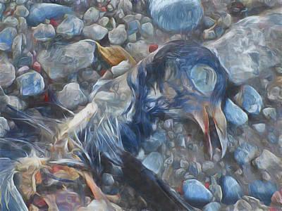 Digital Art - Murder by Steve Taylor