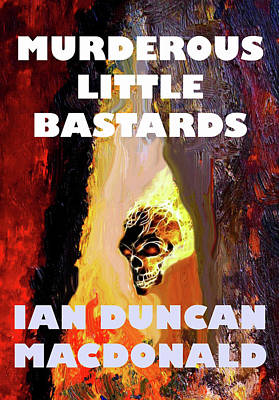Photograph - Murderous Little Bastards Cover by Ian  MacDonald