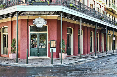 Photograph - Muriel's Bistro - Jackson Square - New Orleans by Greg Jackson