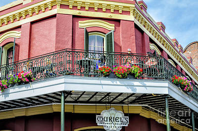 Photograph - Muriels On The Square _ Nola by Kathleen K Parker
