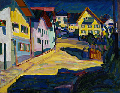 Painting - Murnau Burggrabenstrasse 1 by Wassily Kandinsky
