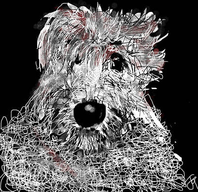 Digital Art - Murphy by Joyce Goldin