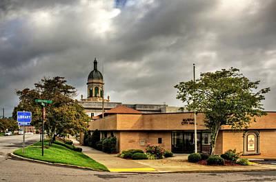 Murphy Photograph - Murphy North Carolina City Hall by Greg Mimbs