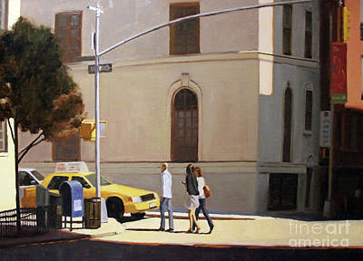 Painting - Murray Hill by Tate Hamilton