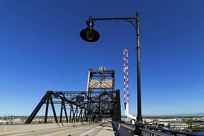 Wall Art - Photograph - Murray Morgan Bridge At Port Of Tacoma by David Gn