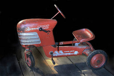 Photograph - Murray Pedal Tractor by Donna Kennedy