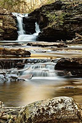 Photograph - Murray Reynolds Falls by Larry Ricker