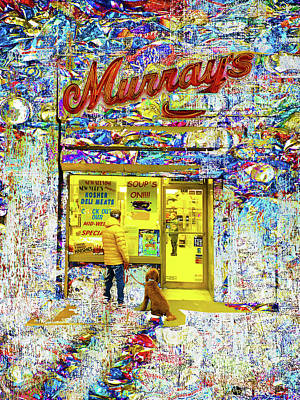 Mixed Media - Murray's Again by Tony Rubino