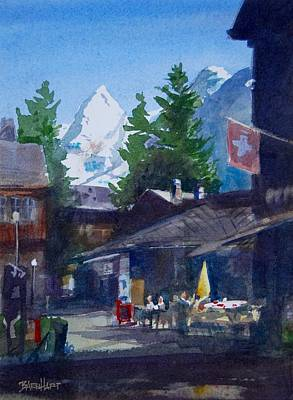 Murren Switzerland Afternoon Original by Duane Barnhart