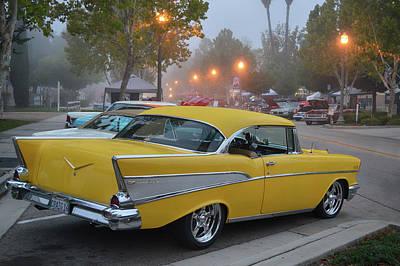 Photograph - Murrieta 57 Chevy by Bill Dutting