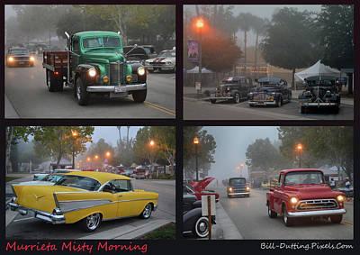 Photograph - Murrieta Misty Morning by Bill Dutting