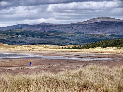Photograph - Murvagh Beach Winter Walk 2 by John Carver