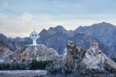 Golf Statues Photograph - Muscat - Oman by Joana Kruse