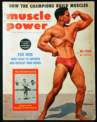 Photograph - Muscle Power 1950s by David Lee Thompson