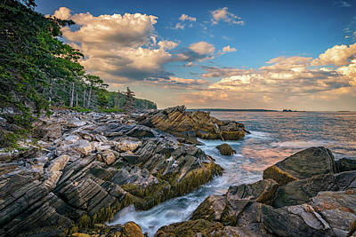 New England Village Photograph - Muscongus Bay by Rick Berk