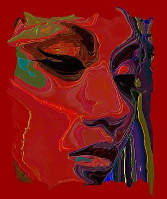 Byron Fli Walker Digital Art - Muse 1 Tee by  Fli Art