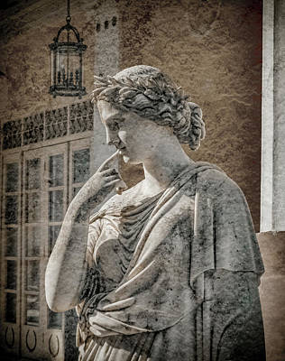 Photograph - Achilleion, Corfu, Greece - The Muse Caliope by Mark Forte