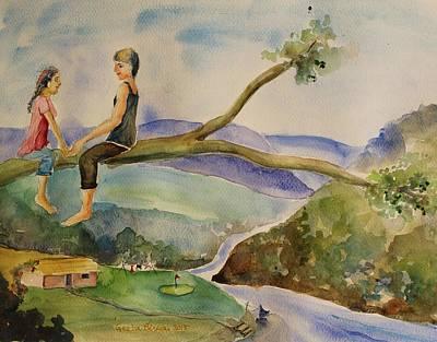 Painting - Muse by Geeta Biswas