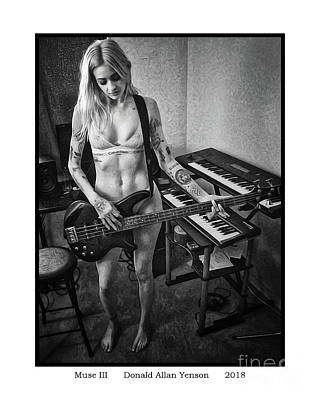 Photograph - Muse IIi by Donald Yenson