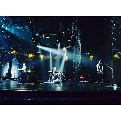 Band Photograph - @muse Live #dronestour #manchester by Wyn Hopkins