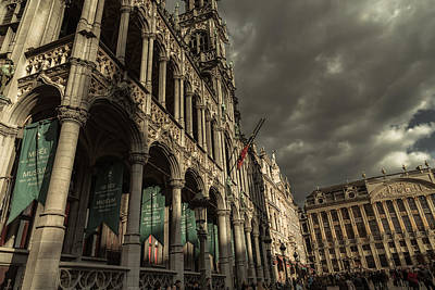 Brussels Photograph - Musee by Chris Fletcher