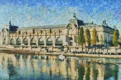 Musee D'orsay Art Print by Aaron Stokes